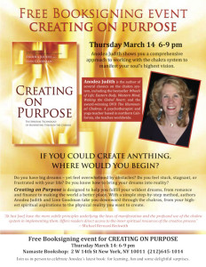Creating on Purpose: An Evening Lecture & Booksigning